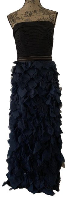 Item - Black and Blue Style Oc487l Long Formal Dress Size 6 (S)