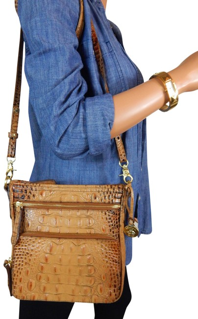 Item - Cleo Toasted Almond Brown Leather Cross Body Bag