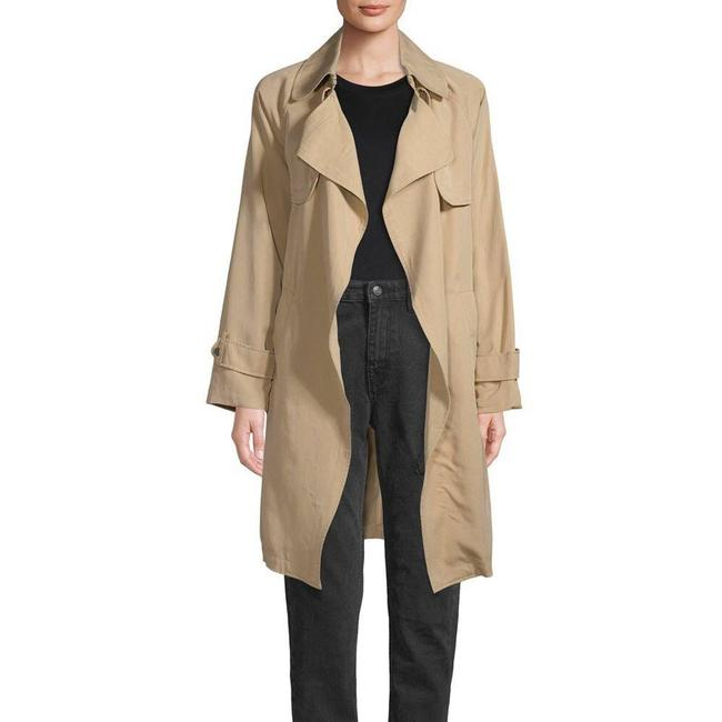 Item - Tan Waterfall Trench Jacket Large Coat Size 12 (L)