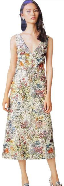 Item - Multicolor Runway Mid-length Night Out Dress Size 2 (XS)