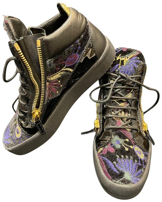 Item - Black May Lond Sc Donna Sneakers Size US 10 Regular (M, B)