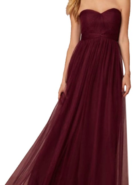 Item - Red Annabelle Long Formal Dress Size 4 (S)