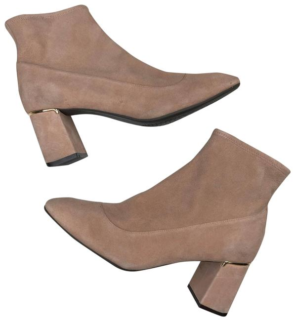 Item - Tan Nude Suede Heeled Ankle Boots/Booties Size US 10 Regular (M, B)