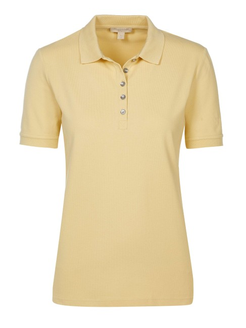 Item - Yellow Brit Women Poloshirt #72855 Tee Shirt Size 16 (XL, Plus 0x)