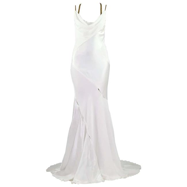 Item - White W Runway Finale Gown F / 2014 Long Night Out Dress Size 2 (XS)