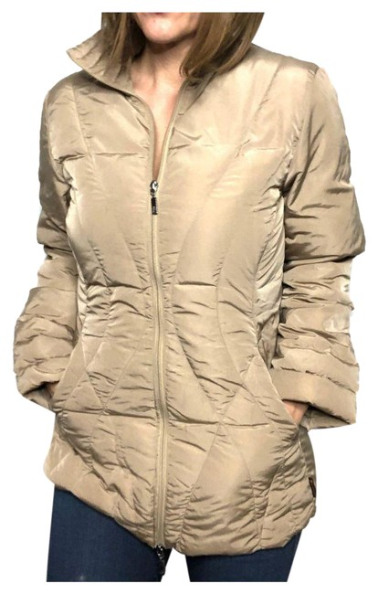 Item - Tan Norme Afnor Puffer Coat Size 6 (S)