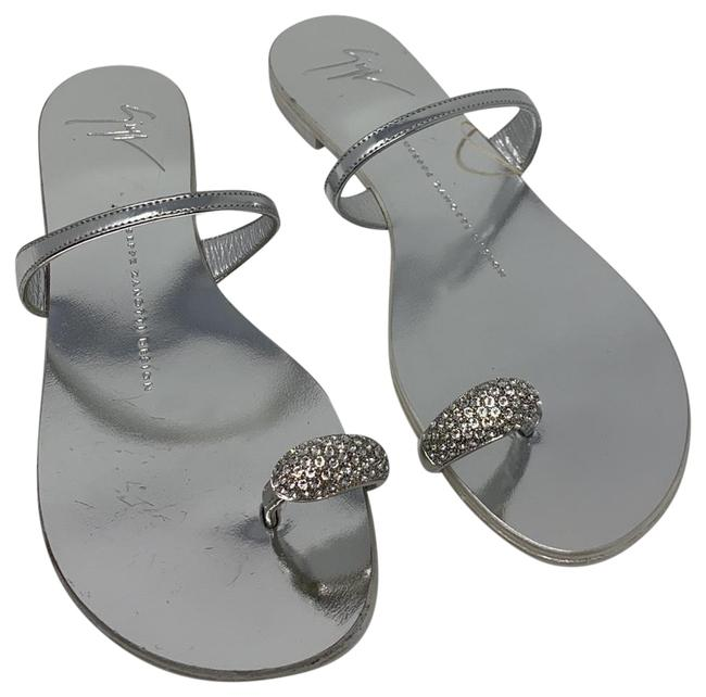 Item - Silver New Sandals Size EU 36 (Approx. US 6) Regular (M, B)
