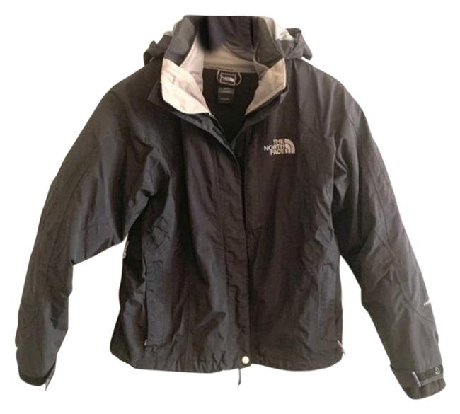 Item - Black Gray Insulated Coat Size 0 (XS)