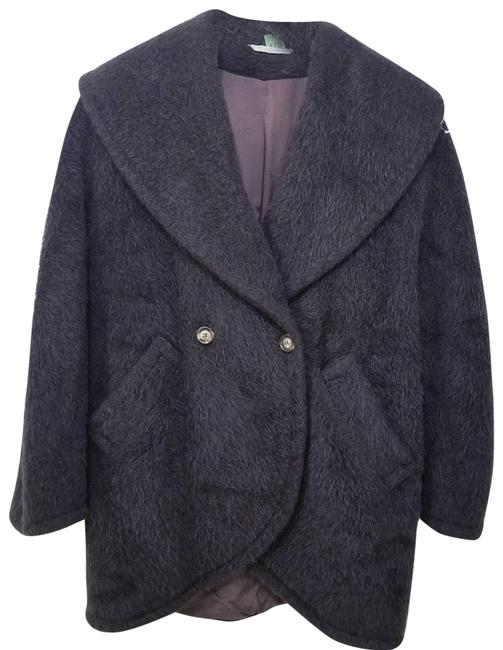 Item - Brown Alpaca and Wool Made In Italy Coat Size 4 (S)
