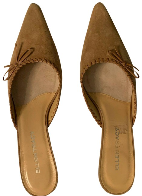 Item - Tan Suede Tan/Neutral Mules/Slides Size US 10 Regular (M, B)