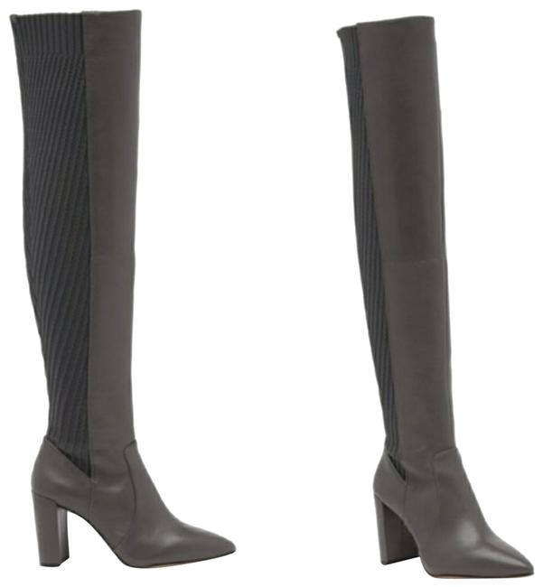 Item - Gray Majestie Over The Knee Boots/Booties Size US 8 Regular (M, B)