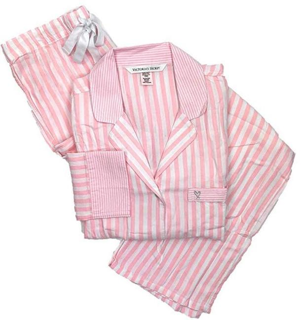 Item - Pink The Afterhours Cotton Pajama Set Button-down Top Size 2 (XS)