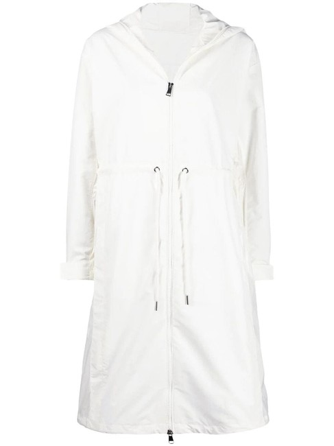 Item - White Alycone Long Parka Coat Size 4 (S)