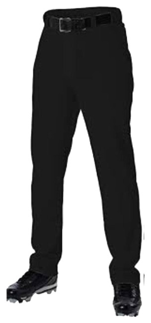 Item - Black Youth Baseball Pants Full Length In Excellent Condition Activewear Sportswear Size 14 (L)
