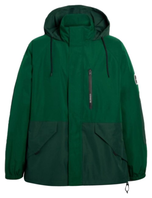 Item - Green New Rain Reactive Windbreaker For Mens Colour Jacket Size 8 (M)