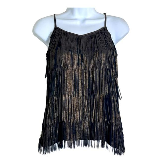 Item - Gold Camisole Tank Top/Cami Size 0 (XS)