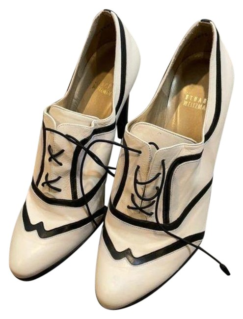 Item - Cream Black | White and Boots/Booties Formal Shoes Size US 11 Regular (M, B)