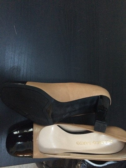 Franco Sarto Black And Brown Pumps