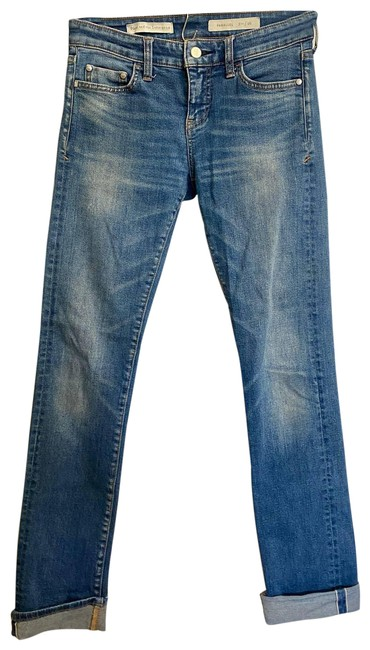 Item - Pilcro and The Letterpress Blue Anthropologie Parallel | Skinny Jeans Size 26 (2, XS)