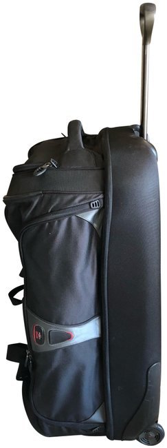 Item - Duffle Tech Large 2 Wheeled Luggage Black Nylon/Mixed Weekend/Travel Bag