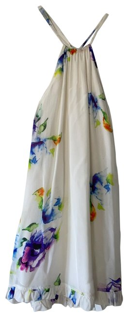 Item - Pica In Multi Floral Short Casual Dress Size 0 (XS)