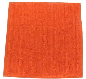 Hermès Wash Cloth H Logo Orange Red 165530 HTL45
