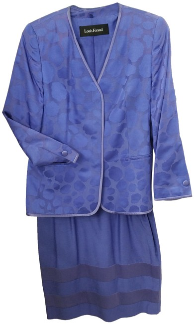 Item - Blue Violet Spring Skirt Suit Size 14 (L)