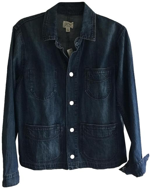 Item - Denim Blue Chore Jacket Size 6 (S)