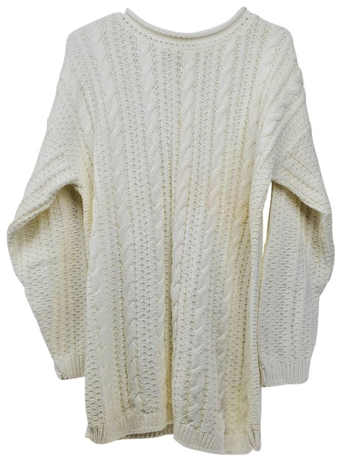 Item - Cherokee Cable Knit Chunky White Sweater
