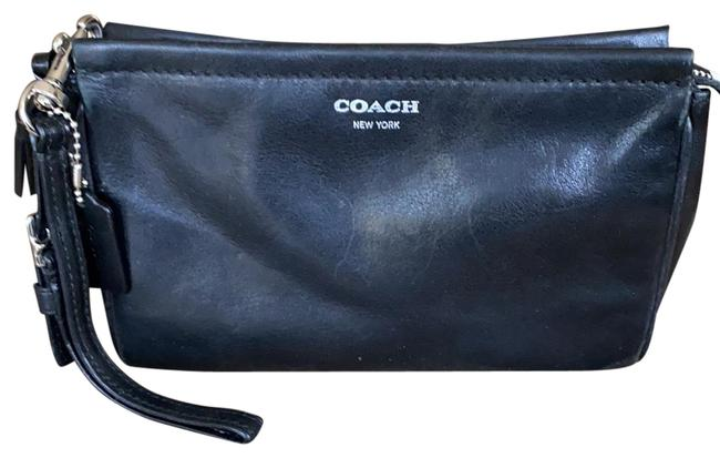 Item - New York Black Leather Clutch