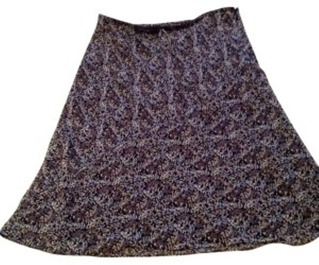 Old Navy Skirt Blue, Gray, Black