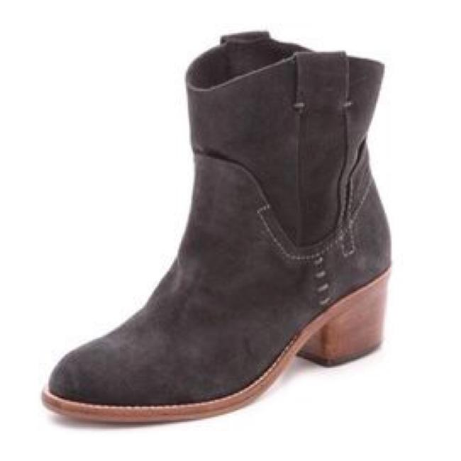 Item - Gray Graham Suede Western Ankle Boots/Booties Size US 9 Regular (M, B)
