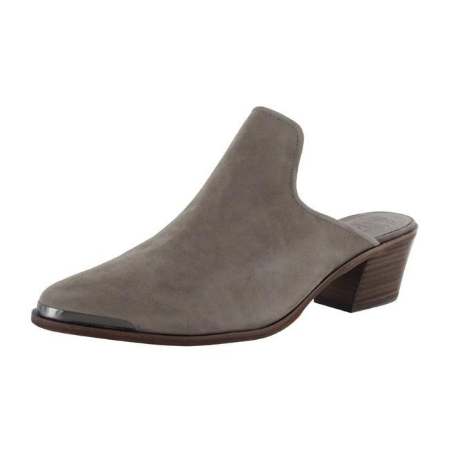 Item - Gray Karcha Suede Backless Heels Pointed Toe Mules/Slides Size US 10 Regular (M, B)