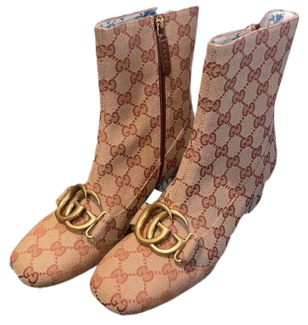 Item - Brown Double G Boots/Booties Size EU 37.5 (Approx. US 7.5) Regular (M, B)