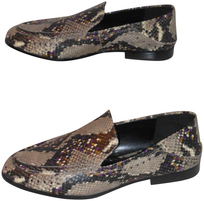 Item - Multi-color Leather Loafers Medium Flats Size US 9.5 Regular (M, B)