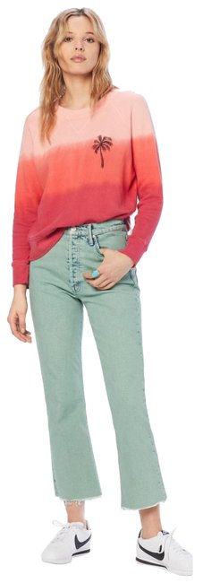 Item - Green Acid The Tripper Crop Fray Capri/Cropped Jeans Size 4 (S, 27)