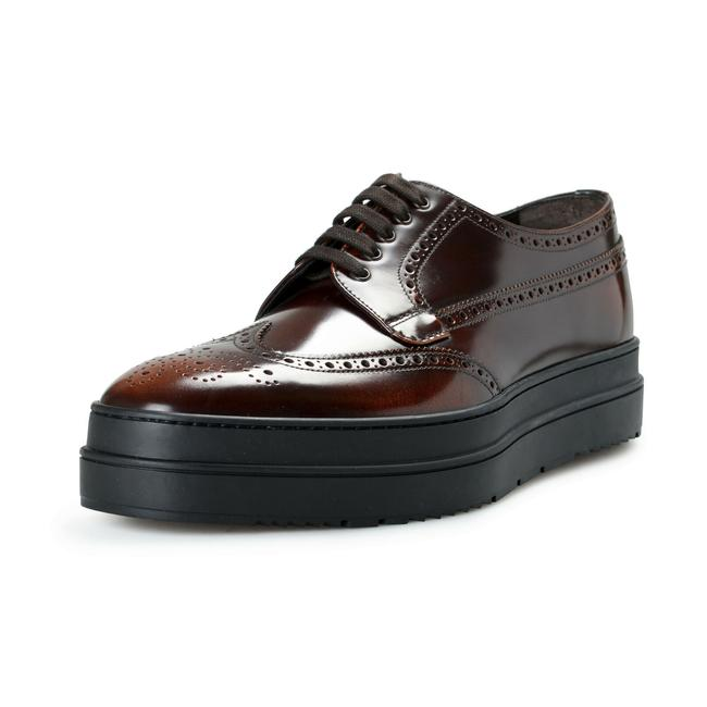 Item - Deep Brown Men's 2ee285 Leather Casual Oxfords Flats Size US 12 Regular (M, B)