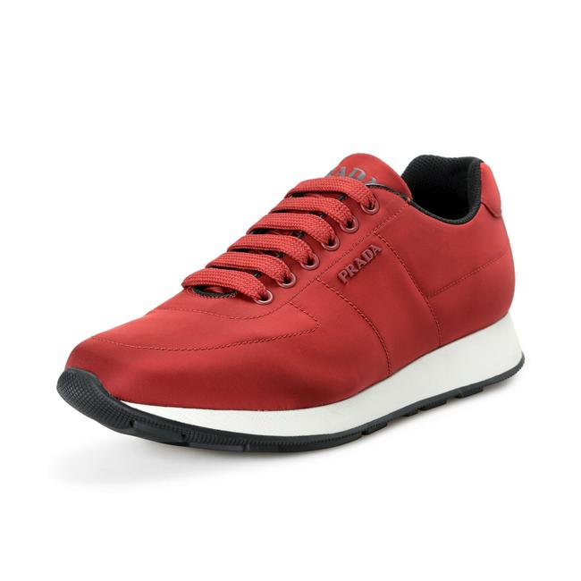 Item - Red Men's 4e3355 Nylon Fashion Sneakers Size US 8.5 Regular (M, B)