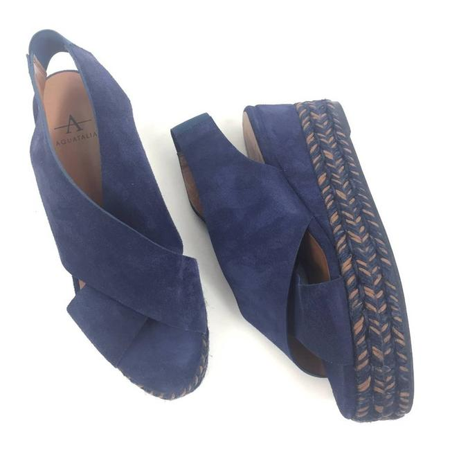 Item - Blue Jaida Espadrille Sandals Size EU 37 (Approx. US 7) Regular (M, B)
