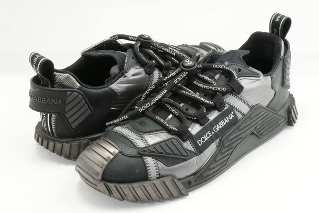 Item - Black/Gray Ns1 Sneakers In Mixed Materials Shoes