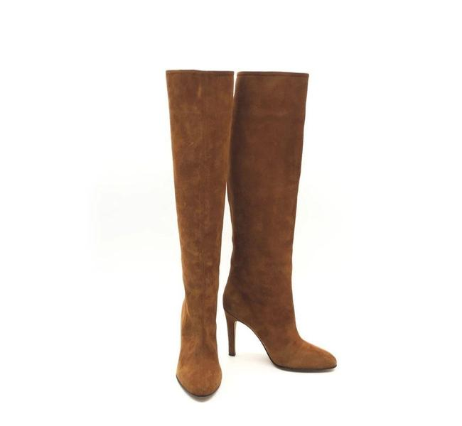 Item - Brown Nellis Suede Pull On Boots/Booties Size EU 38.5 (Approx. US 8.5) Regular (M, B)