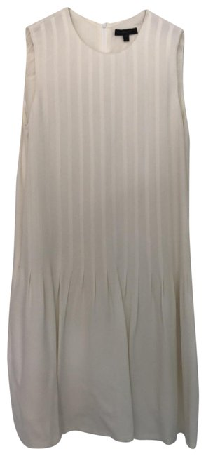 Item - Cream Mid-length Night Out Dress Size 6 (S)