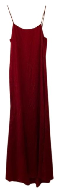 Item - Red Slip Long Night Out Dress Size 8 (M)