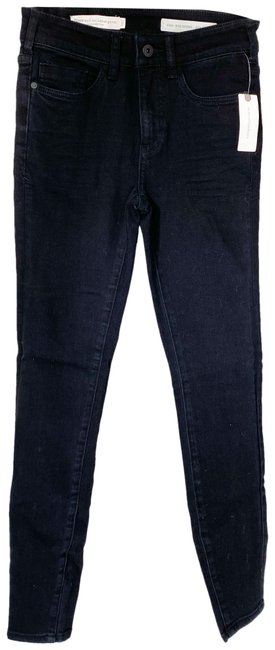 Item - Pilcro and The Letterpress Black Anthropologie High-rise Skinny Jeans Size 25 (2, XS)