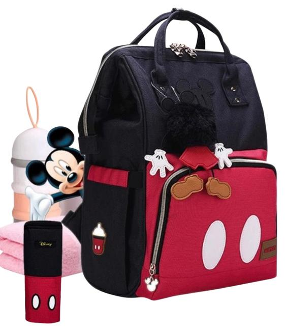 Item - Mickey Mouse Travel Mommy Mummy Maternity Feeding Baby Diaper Stroller Storage Backpack