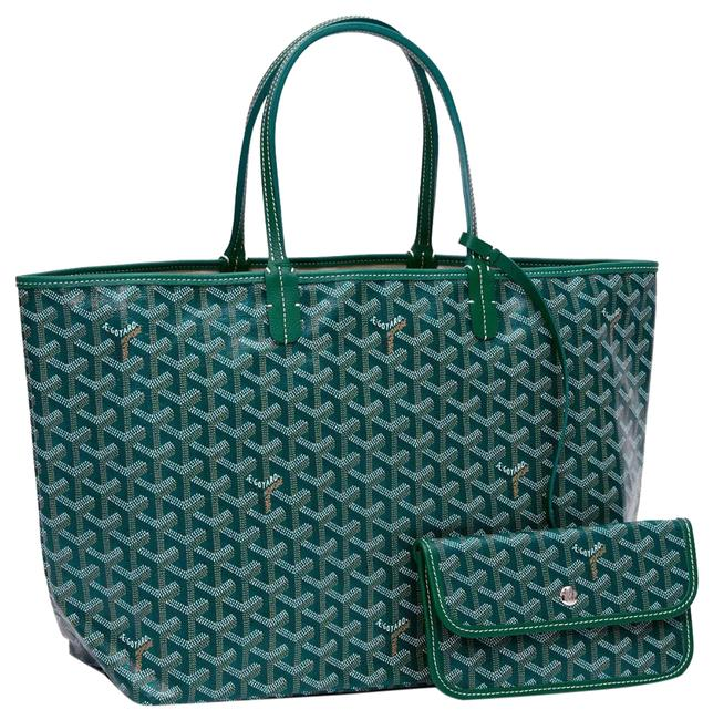 Item - Pm Green (Special Color) Leather Tote