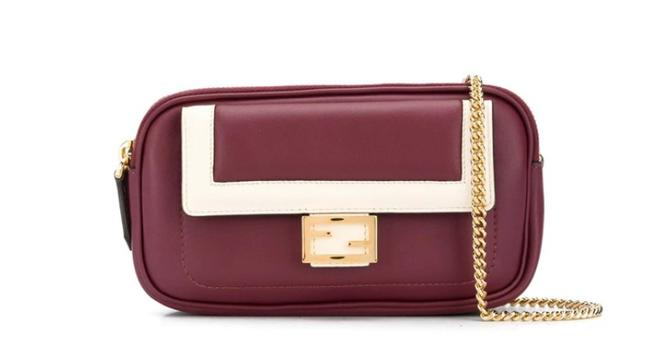 Item - Shoulder 2 Baguette Leather Cross Body Bag