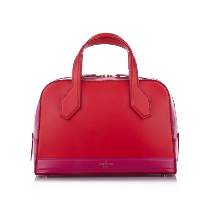 Item - Dora Pm Red Leather Satchel