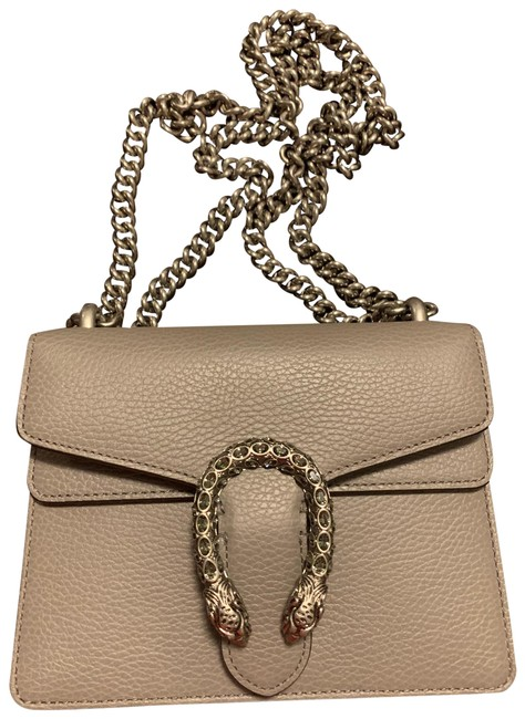 Item - Shoulder Dionysus Small With Grey Leather Cross Body Bag