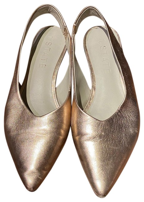 Item - Blush Metallic Slingback - Slightly Worn Flats Size US 6 Regular (M, B)